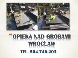 Opieka nad grobem. tel 504-746-203.