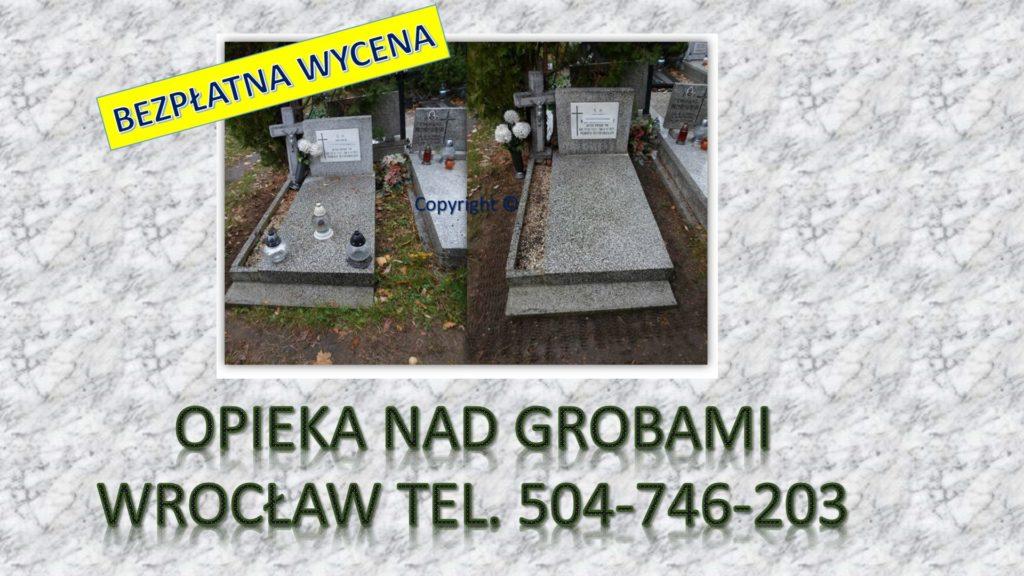 Cmentarz Wrocław, opieka nad grobami.