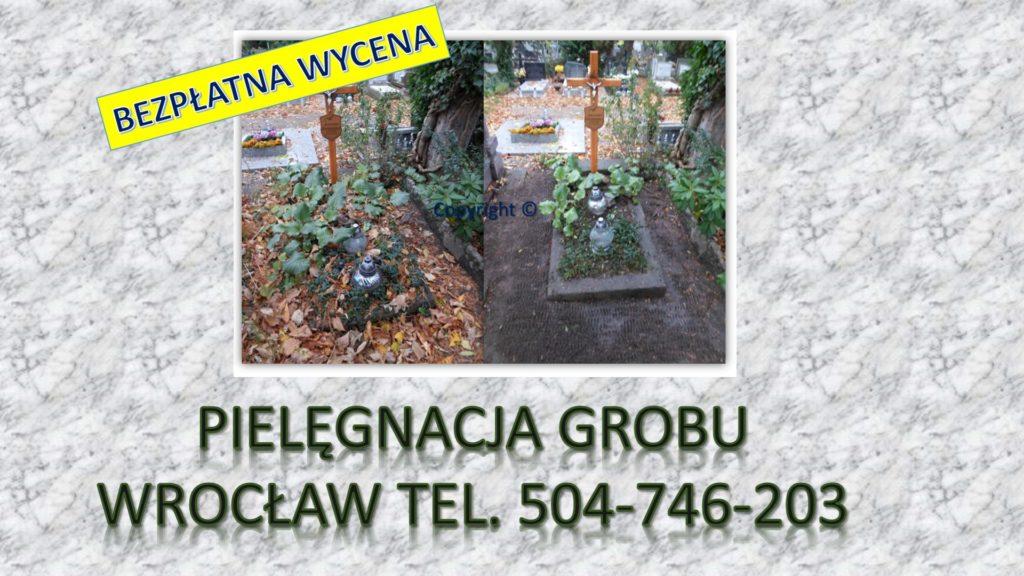 Firma sprzątająca groby, Wrocław.